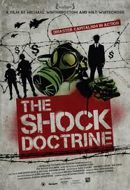 Cartel promocional de The shock doctrine (2010)