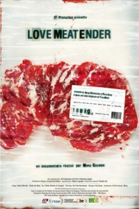 Cartel promocional de Love Meat Tender
