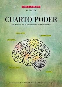 Cartel promocional de El cuarto poder (2011)