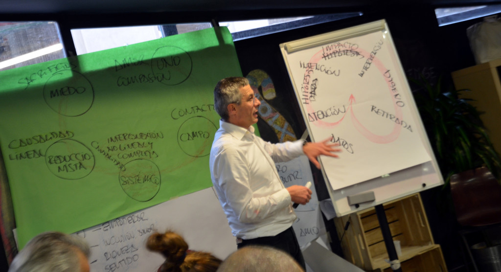 Moliní habla del marco conceptual global del cambio intencional