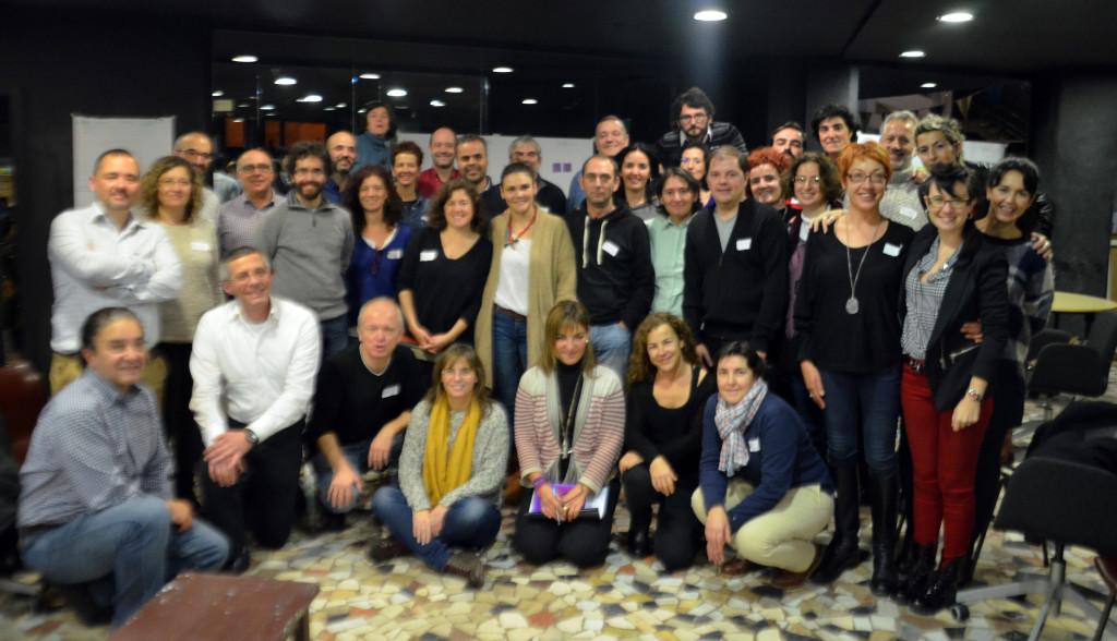 Fotografía de los Agentes de Transformación intencional (GAIT nov 2014, Madrid)